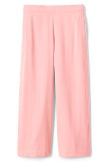Women's Crepe Crop Trousers