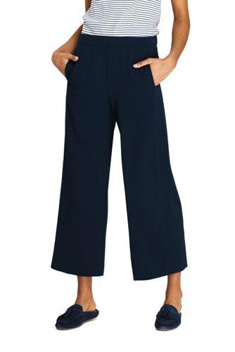 Pantalon Fluide 7/8, Femme | Lands' End