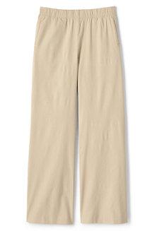 Weite Hose im Leinen-Mix für Damen
