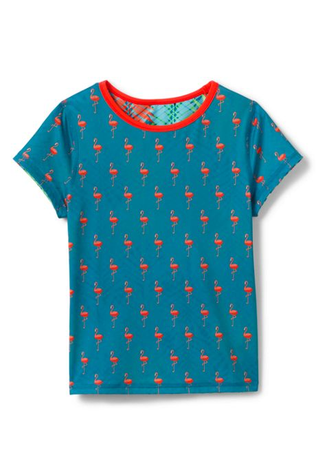 Little Girls Reversible Rash Guard