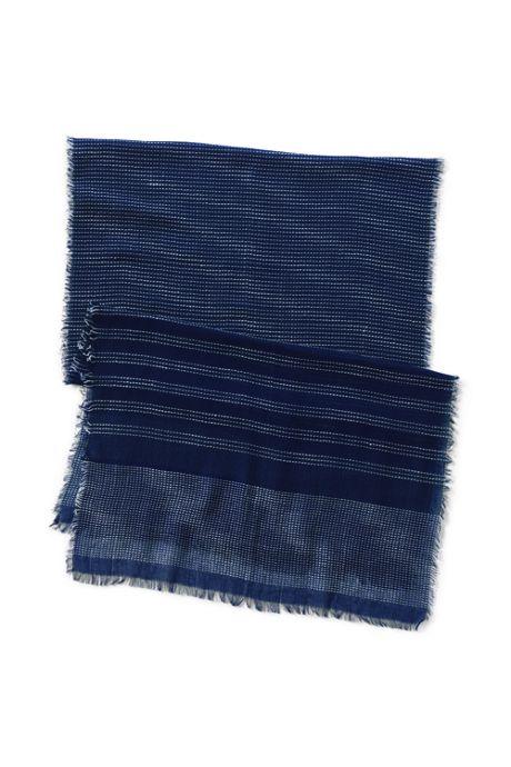 Women's Texture Stripe Scarf