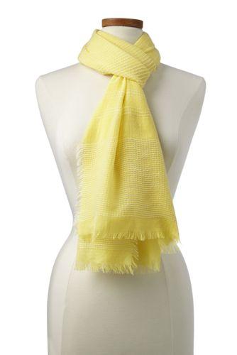 Strukturstreifen-Schal für Damen