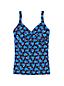 Women's Beach Living Anti-chlorine Wrap Tankini Top