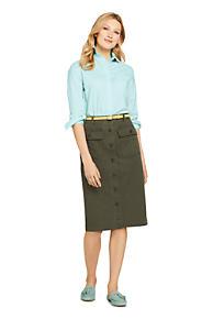de76b1075f4 Women s Button Front Chino Skirt