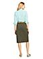 Women's Button Front Skirt