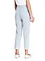 Pantalon 7/8 Seeresucker Rayé, Femme Stature Standard