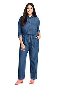 Plus Size Maxi Dresses Jumpsuits   Lands\' End