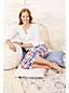 Women's Plus Patterned Cropped Pyjama Bottoms