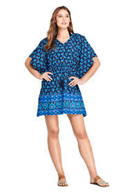 Women's Cotton Lawn Kaftan Swim Cover-up Print