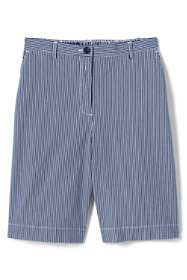 "Women's Petite 7 Day 10"" Shorts - Stripe"