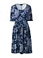 Robe Imprimée en Jersey Stretch, Femme Stature Standard