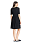 Robe Unie en Jersey Stretch, Femme Stature Standard