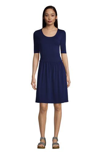 Robe en Jersey Stretch, Femme Stature Standard