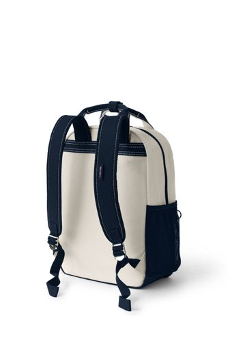 Handled Canvas Backpack