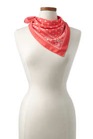 Women's Bandana Neck Scarf