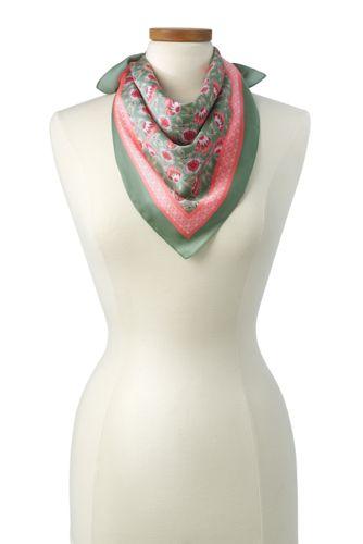 Women's Print Neckerchief
