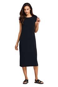 Women's Cap Sleeve Matte Jersey Tee Shirt Dress