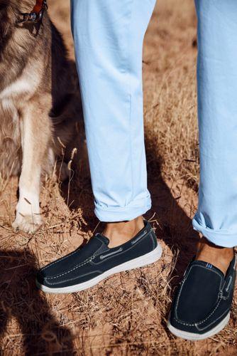 Men's Wide Lightweight Comfort Loafers