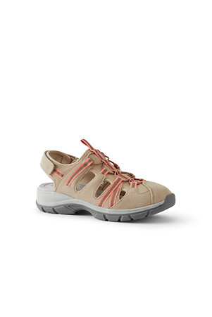 4ce9059e2 Women's Suede Everyday Walking Sandals | Lands' End