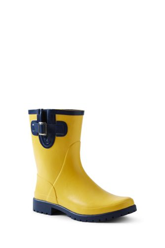 Women's Waterproof Rain Boots by Lands' End