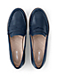 Women's Wide Leather Penny Loafers