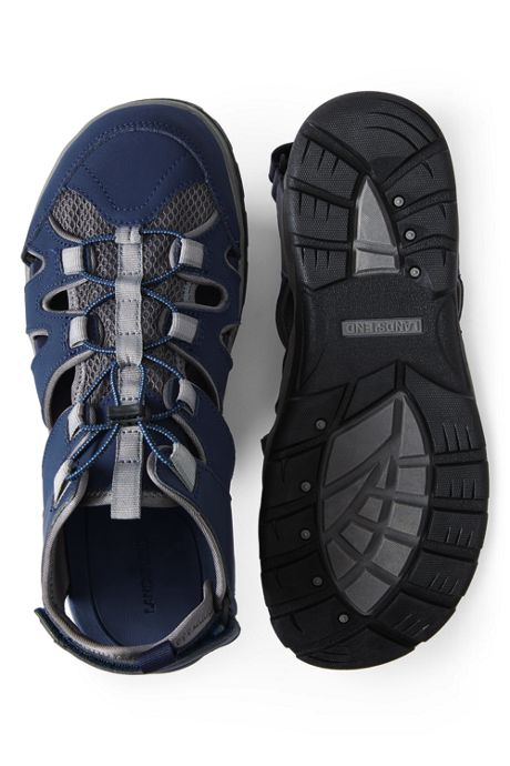 Men's Wide All Weather Closed Toe Sandals