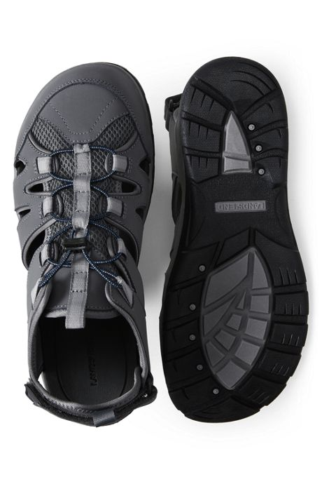 Men's Wide All Weather Closed Toe Water Sandals