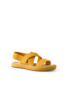 Women's Elastic Cross Strap Sandals