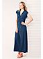Maxi-Robe Imprimée en Jersey Stretch, Femme Stature Standard