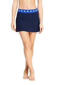 Women's Chlorine Resistant SwimMini Swim Skirt Print