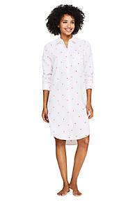 7babb8ba91 Women s Embroidered Cotton Pajama Nightshirt