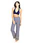 Pantalon de Plage Ample Blocs de Couleurs, Femme Stature Standard