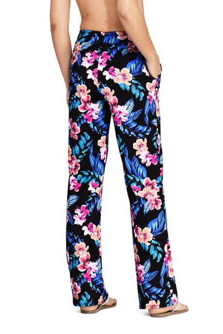 Women's Swim Cover-up Pant Print