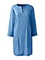 Women's Stretch Linen Mix Tunic Dress