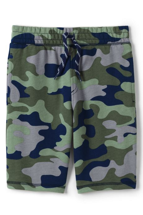 Boys Pull On Pattern French Terry Shorts