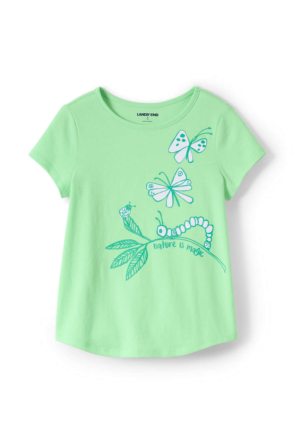 bbdfc5114 Toddler Girls Color Change Graphic Tee Shirt from Lands' End