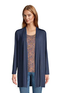 Women's Long Jersey Cardigan
