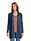 Cardigan Long en Jersey Stretch, Femme Stature Standard