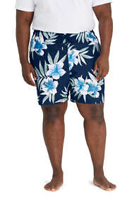 "Men's Big and Tall 8"" Print Volley Swim Trunks"