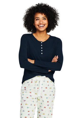 Women's Knit Flannel Pajama Set