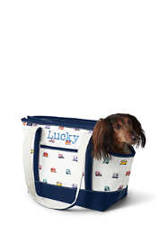 Print Canvas Dog Tote Carrier