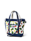 Printed Canvas Cooler Tote Bag