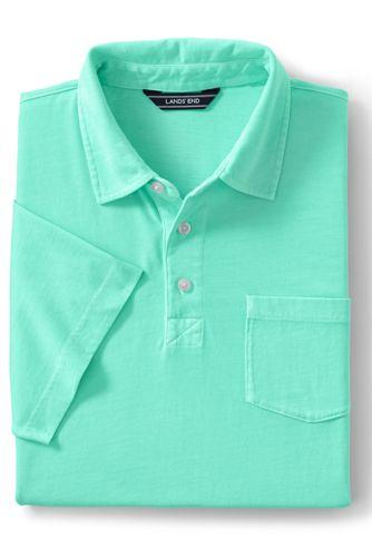 Stückgefärbtes Super-T Poloshirt für Herren, Classic Fit
