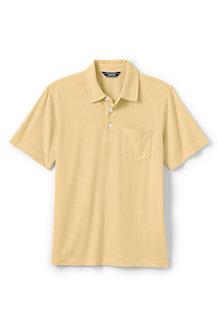 Men's Garment-dyed Jersey Polo Shirt