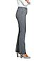 レディス・美型シルエット・ウォッシャブル・ウール・体型別パンツ/O体型/ストレート
