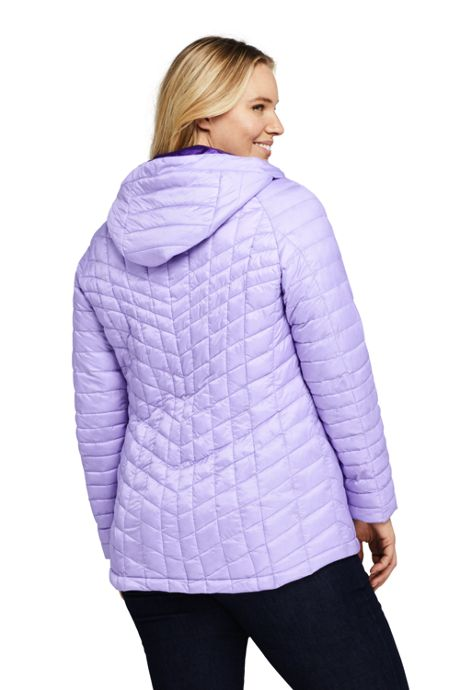 Women's Plus Size Ultralight Packable Insulated Jacket