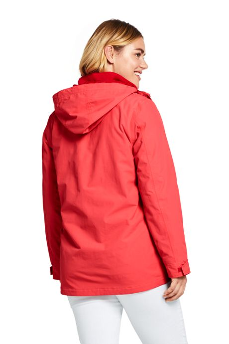 Women's Plus Size 3 in 1 Squall Rain Jacket