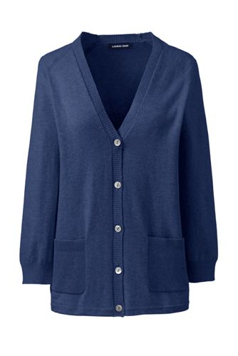 Women's Cotton/Cashmere Boxy Cardigan