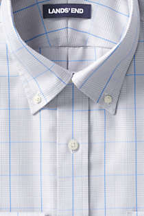 Men's Traditional Fit No Iron Supima Pinpoint Comfort Collar Shirt, Unknown
