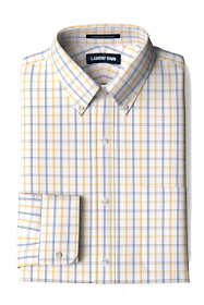 Men's Traditional Fit No Iron Supima Pinpoint Comfort Collar Shirt